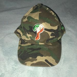 Camo Irish Phillies Hat